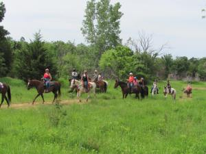 City Slickers Trail Ride 2013