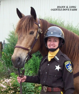 Joann Long Mounted Patrol Officer